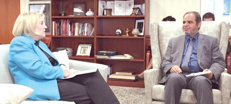 وزير التعليم يبحث مجالات التعاون التعليمي مع المسؤولين الأمريكيين
