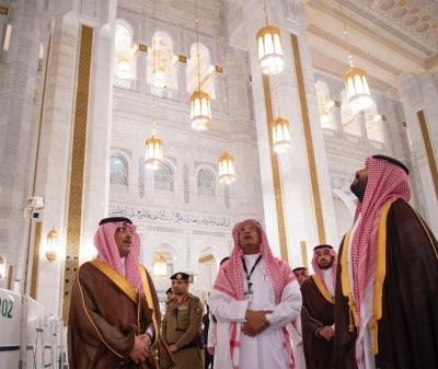 رصد إنجازات ولي العهد من العُلا إلى مكة المكرمة.